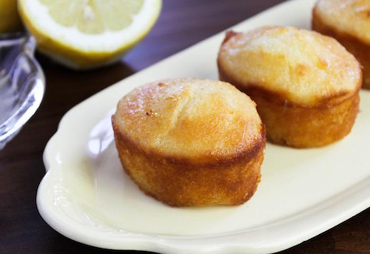 Lemon Syrup Cupcake