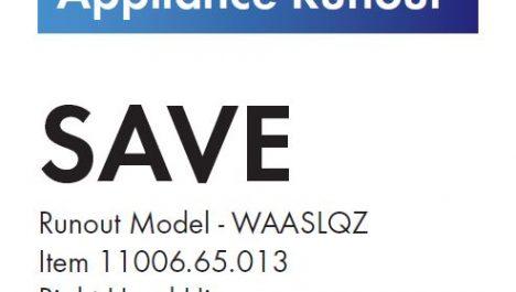 V-Zug Run Out Sale