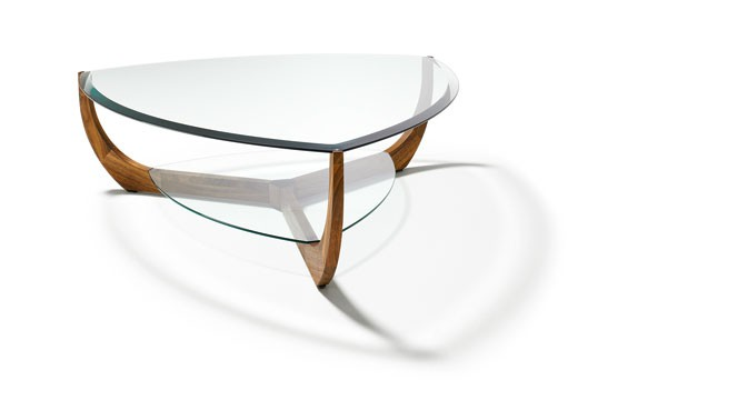 Juwel Coffee Table  Pepper Design -> Couchtisch Holz Glas Oval