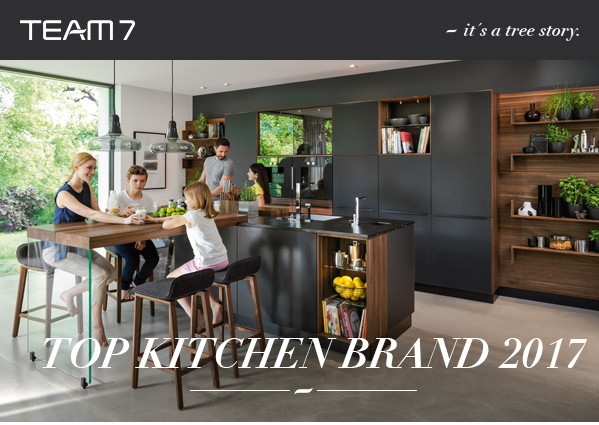 TEAM7 wins Top Kitchen Brand 2017