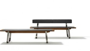 Nox Wooden Panels and Nox Metal Sides Benches